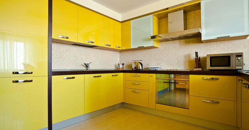 Избор за цвят за кухнята