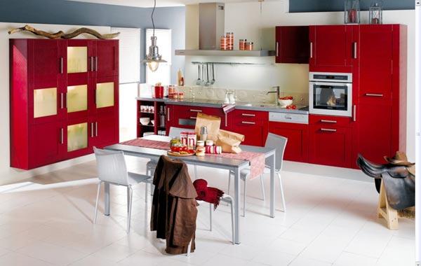 цветове в кухнята