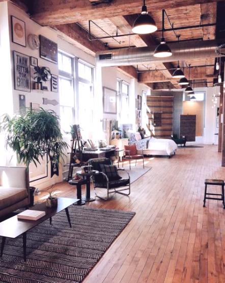 Лофт апартамент в съвременен стил