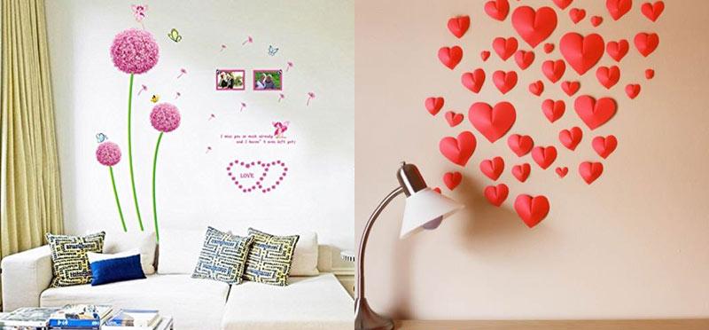 Романтична декорация за спалня или дневна