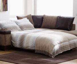 Ъглов диван спалня