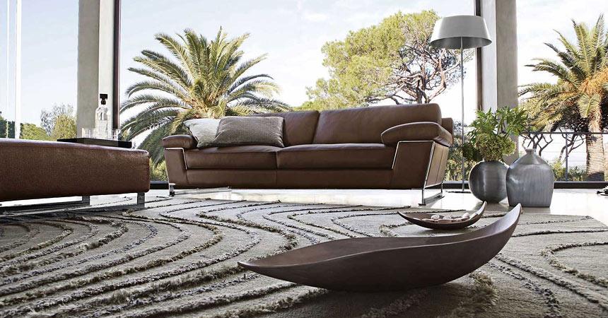 луксозно обзавеждане с мека мебел