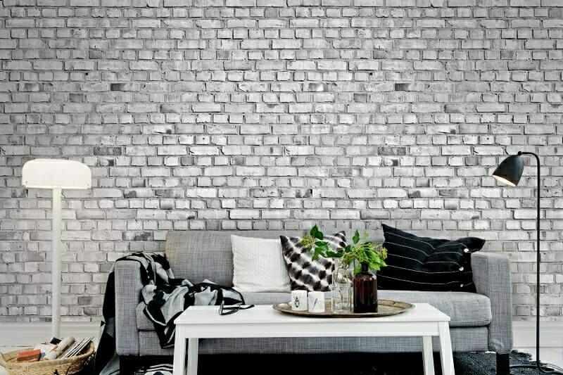 декор с ефект стенна тухла