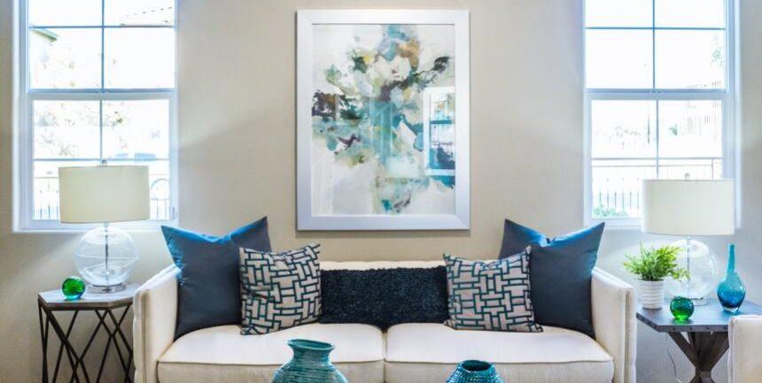 Декорация на дома с картини и пана
